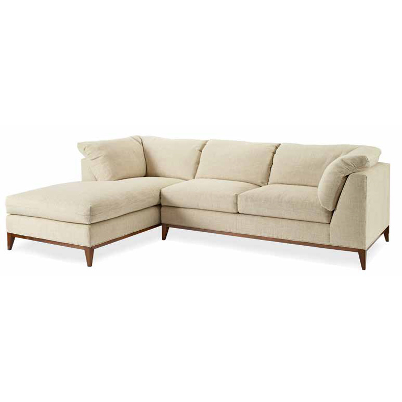 Swaim F424 Swaim Upholstery Sectional Discount Furniture