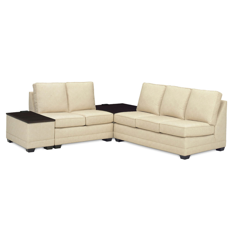 temple 5500 sectional with storage tables tailor made