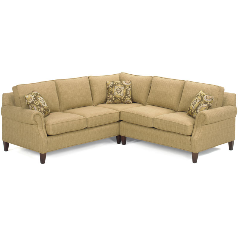 temple 5300 series harper sectional discount furniture at