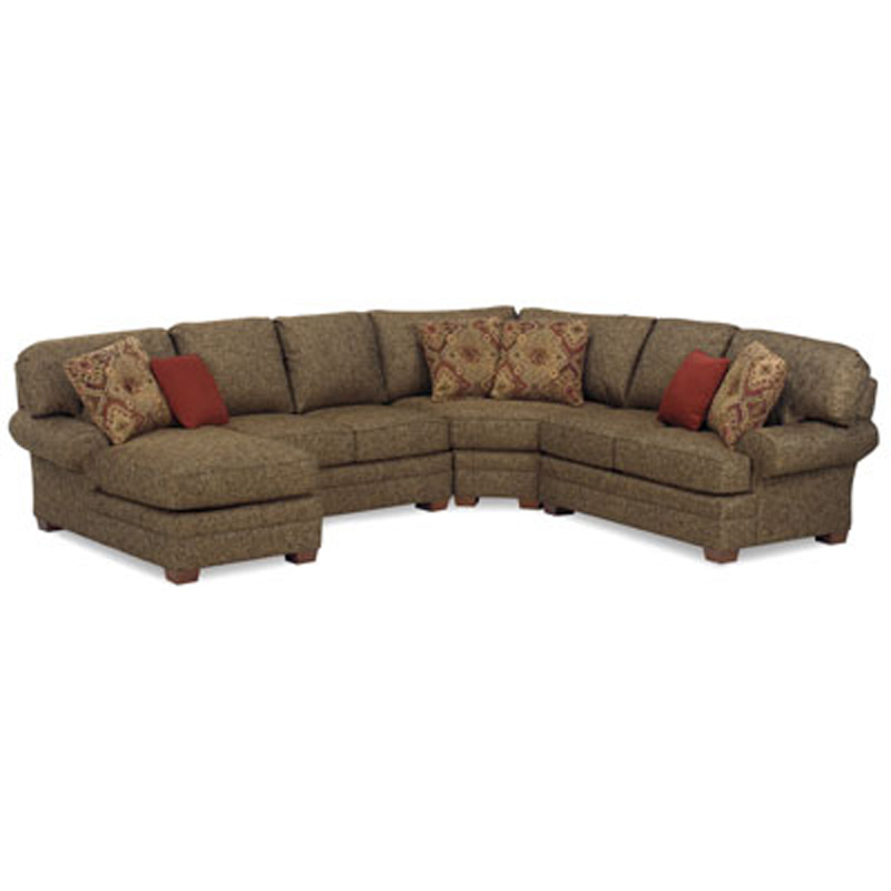Temple 5900 Series Visions Sectional Discount Furniture At