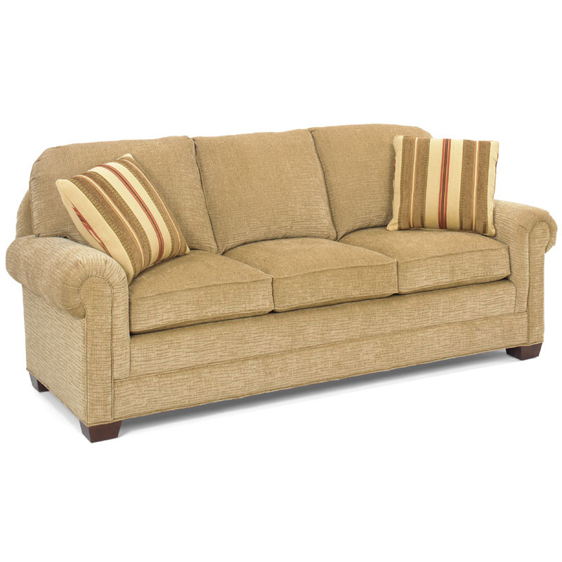Cheap Furniture Delivered: Temple 7110-85 Belmont Sofa Discount Furniture At Hickory