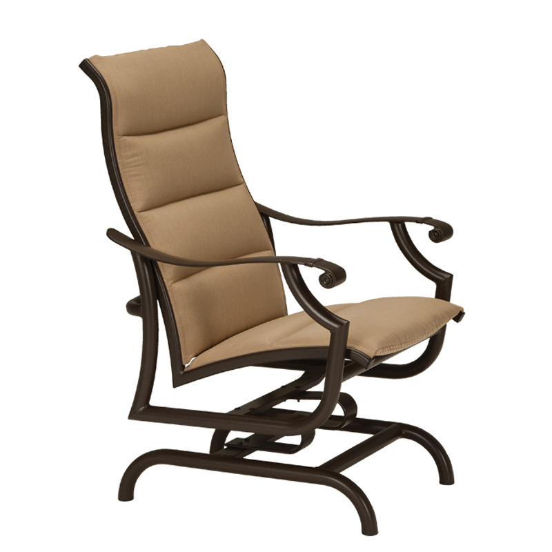 Tropitone 711225ps Montreux Ii Padded Sling Action Lounger