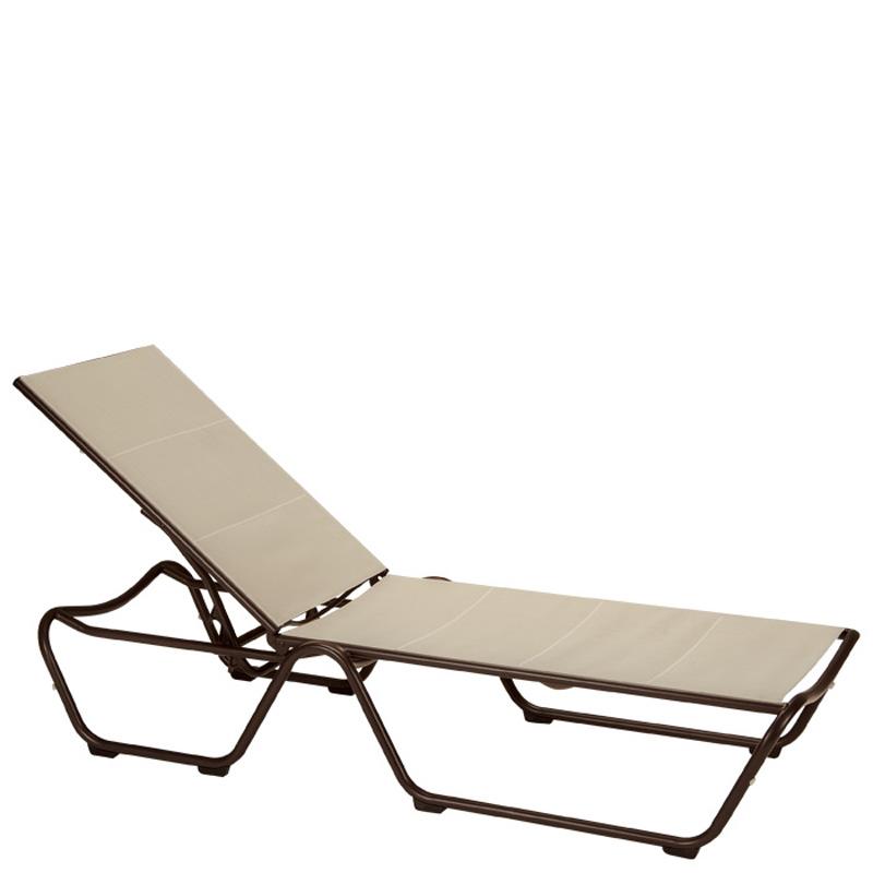 Tropitone 220432dp Millennia Duplex Sling Chaise Lounge