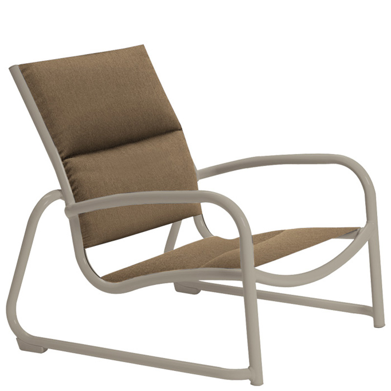 Tropitone 220413ps Millennia Padded Sling Sand Chair
