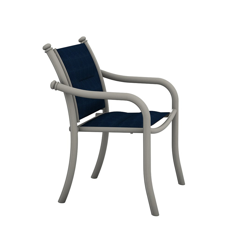Tropitone 330724ps La Scala Padded Sling Dining Chair