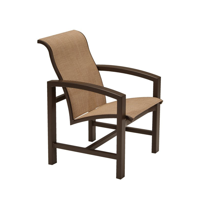 Tropitone 741237 lakeside ii sling dining chair discount for Furniture gallery lakeside