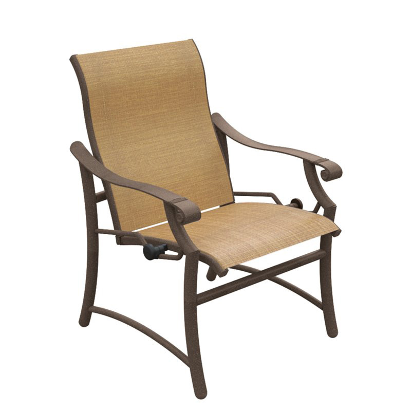 Tropitone SA Montreux Sling Dining Lounge Chair