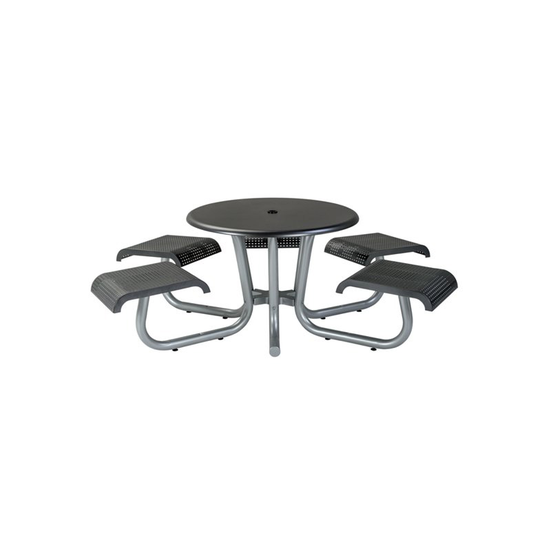 WICKER DINING TABLE OUTDOOR AND PATIO Hickory Park Furniture Galleries - White round picnic table