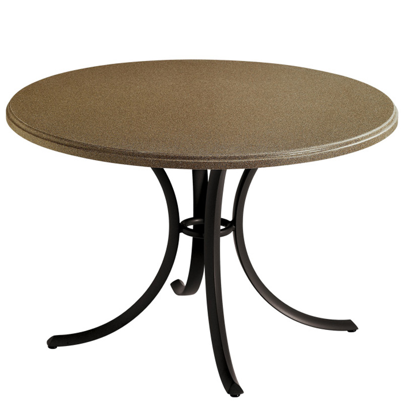Tropitone 1836b Commercial Solid Surface Tables Cafe Or
