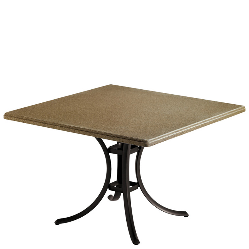 tropitone 1875b commercial solid surface tables cafe or dining table base discount furniture at. Black Bedroom Furniture Sets. Home Design Ideas