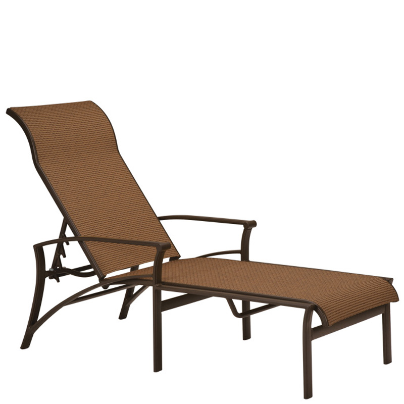 Tropitone 161132 corsica sling chaise lounge discount for Chaise lounge cheap uk