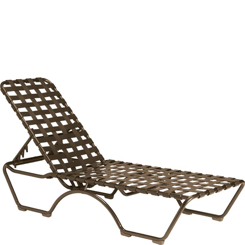 Tropitone 260532 Kahana Cross Strap Chaise Lounge Discount