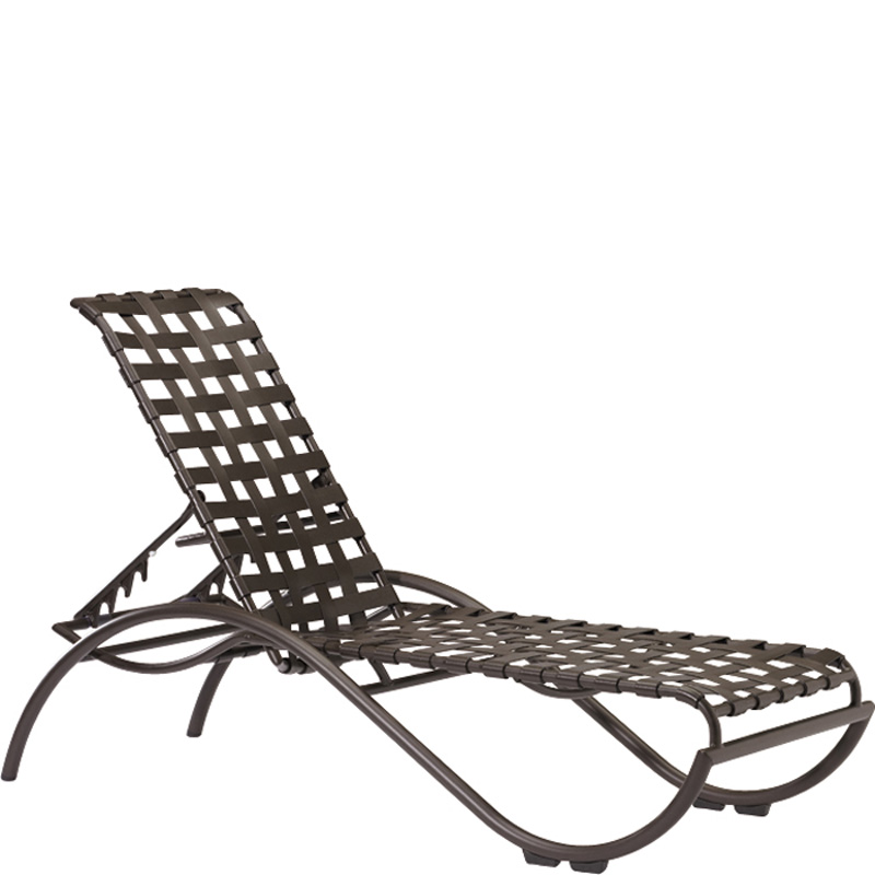 tropitone 330032 la scala strap chaise lounge discount furniture at hickory park furniture galleries. Black Bedroom Furniture Sets. Home Design Ideas