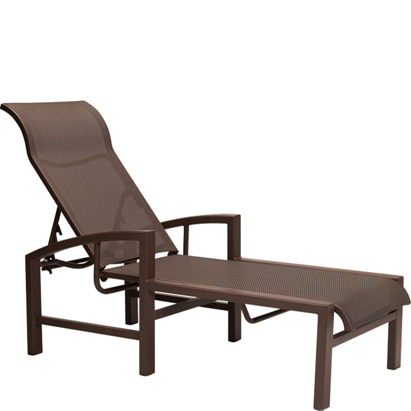 tropitone 740532 lakeside sling chaise lounge discount furniture at hickory park furniture galleries. Black Bedroom Furniture Sets. Home Design Ideas
