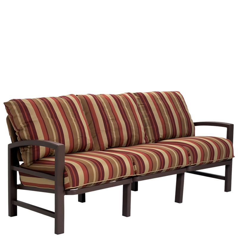 Tropitone 730521 lakeside cushion sofa discount furniture for Furniture gallery lakeside