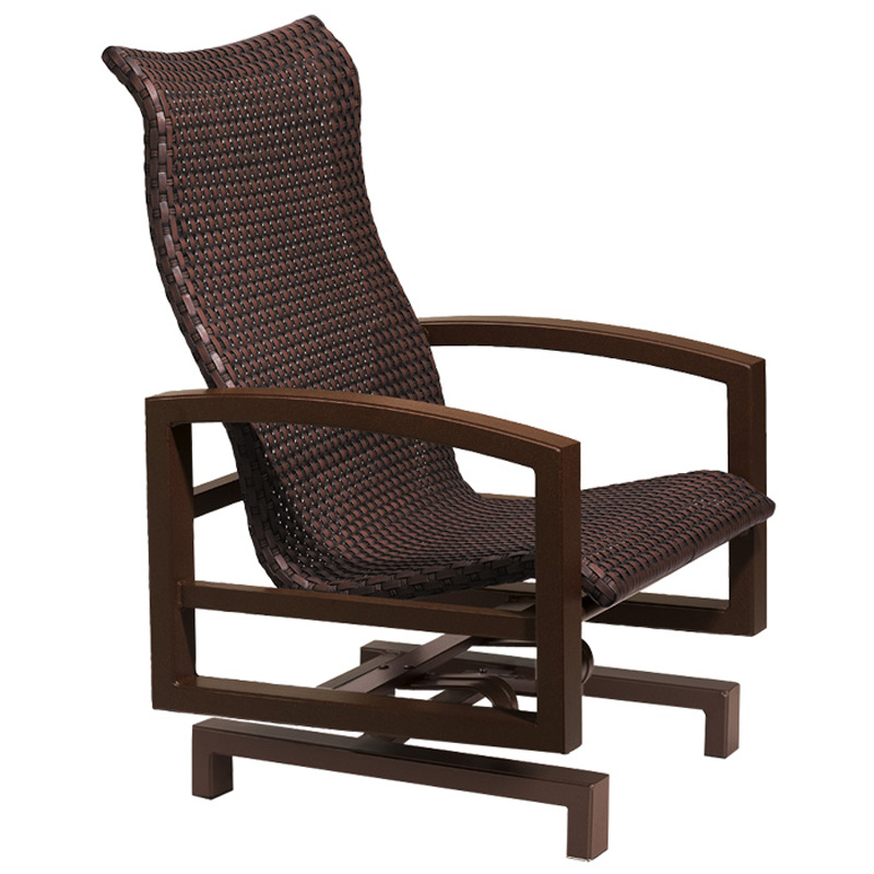 Tropitone 740525ws lakeside woven action lounger discount for Furniture gallery lakeside