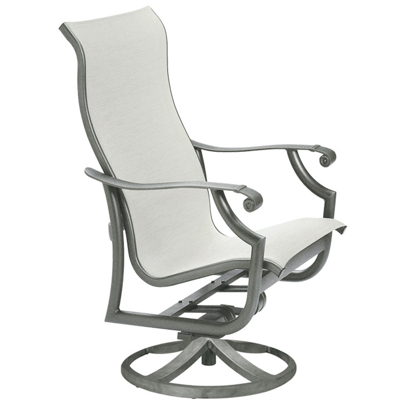Montreux Tropitone, Sling Swivel Action Lounger 710125NT - WICKER ROCKERS OUTDOOR AND PATIO Hickory Park Furniture Galleries
