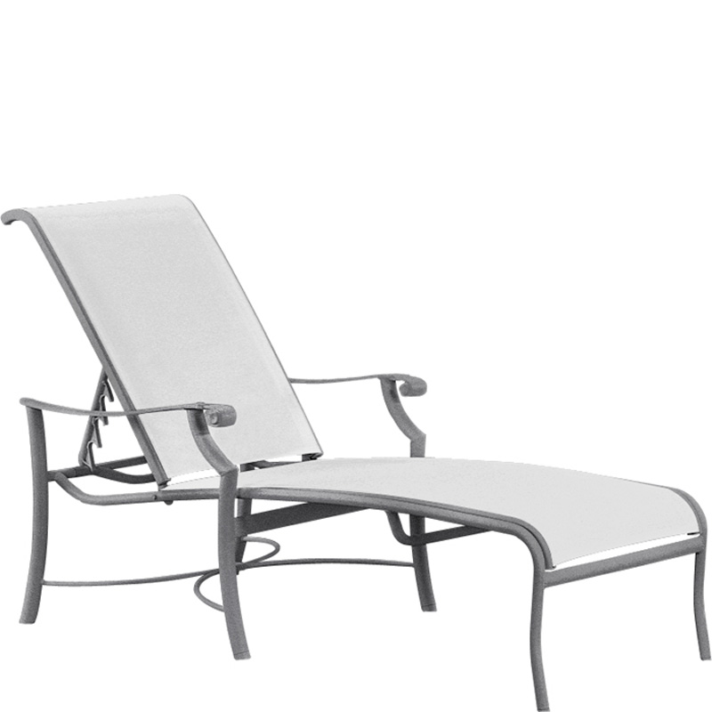 Sling Chaise Lounge 710132. Montreux Tropitone  sc 1 st  Hickory Park Furniture : tropitone chaise lounge - Sectionals, Sofas & Couches