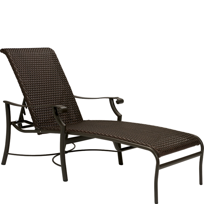 tropitone 710132ws montreux woven chaise lounge discount furniture at hickory park furniture. Black Bedroom Furniture Sets. Home Design Ideas