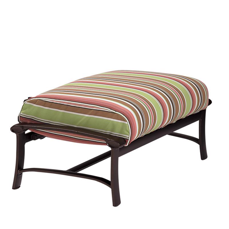 Tropitone Ovation Cushion Ottoman and a Half