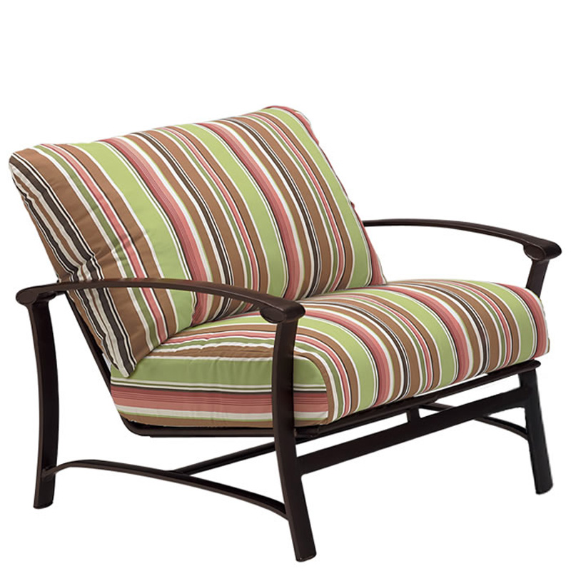 Outdoor Patio Furniture Hickory Nc: Tropitone 850611 Ovation Cushion Lounge Chair And A Half