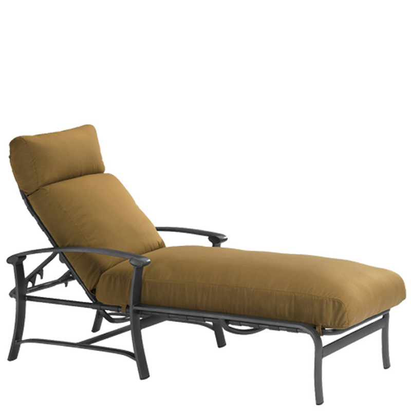 Tropitone 850632 ovation cushion chaise lounge discount for Chaise lounge cheap uk