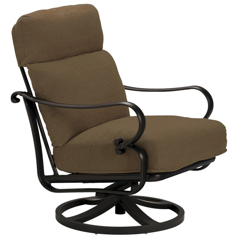 Tropitone 440625nt Radiance Cushion Swivel Action Lounger
