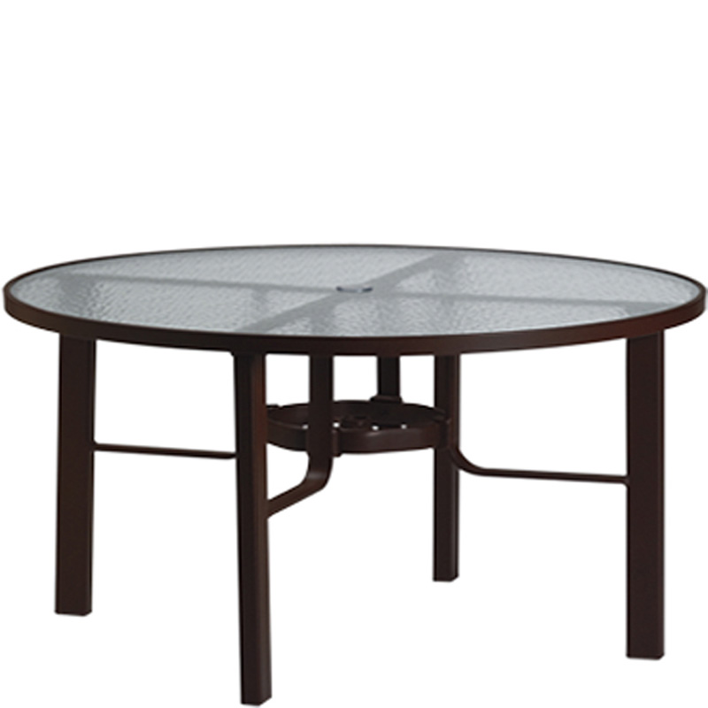 60 round glass dining table tropitone 730561 acrylic and glass tables 60 inch 7372