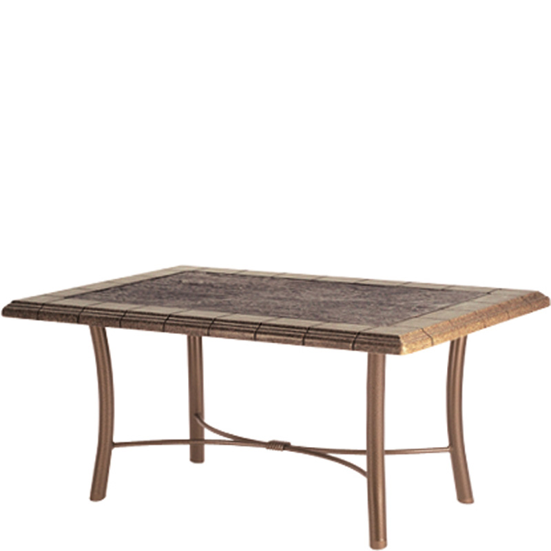 Tropitone 720239swb Tiled Stone Tables Coffee Table Base For 39 Inch