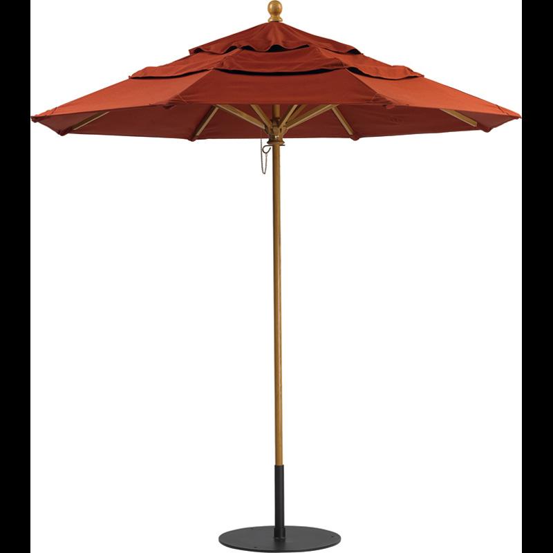 Tropitone Manual And Pulley Lift Umbrella Bases Venice