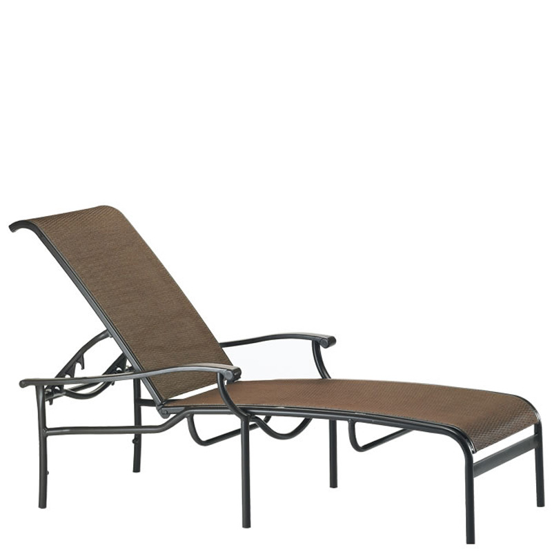 tropitone 200832 sorrento relaxed sling chaise lounge discount furniture at hickory park. Black Bedroom Furniture Sets. Home Design Ideas