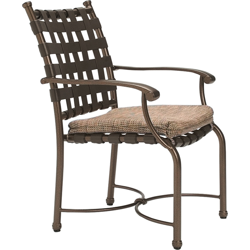 Outdoor Patio Furniture Hickory Nc: Tropitone 20042405 Sorrento Strap Dining Chair With Seat