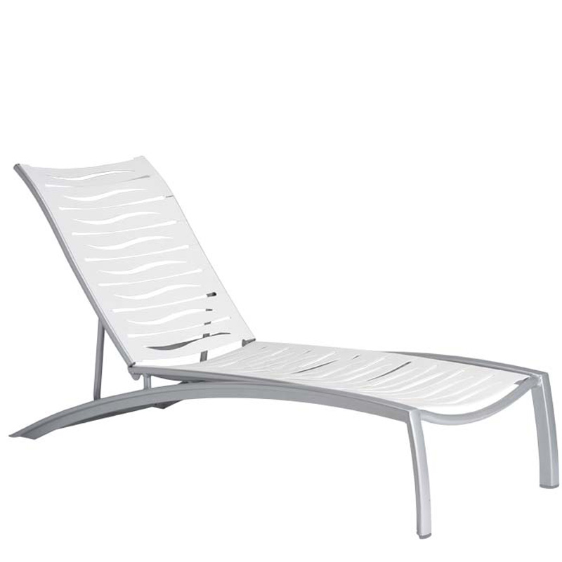 Tropitone 230532wv south beach ez span chaise lounge for Beach chaise lounger