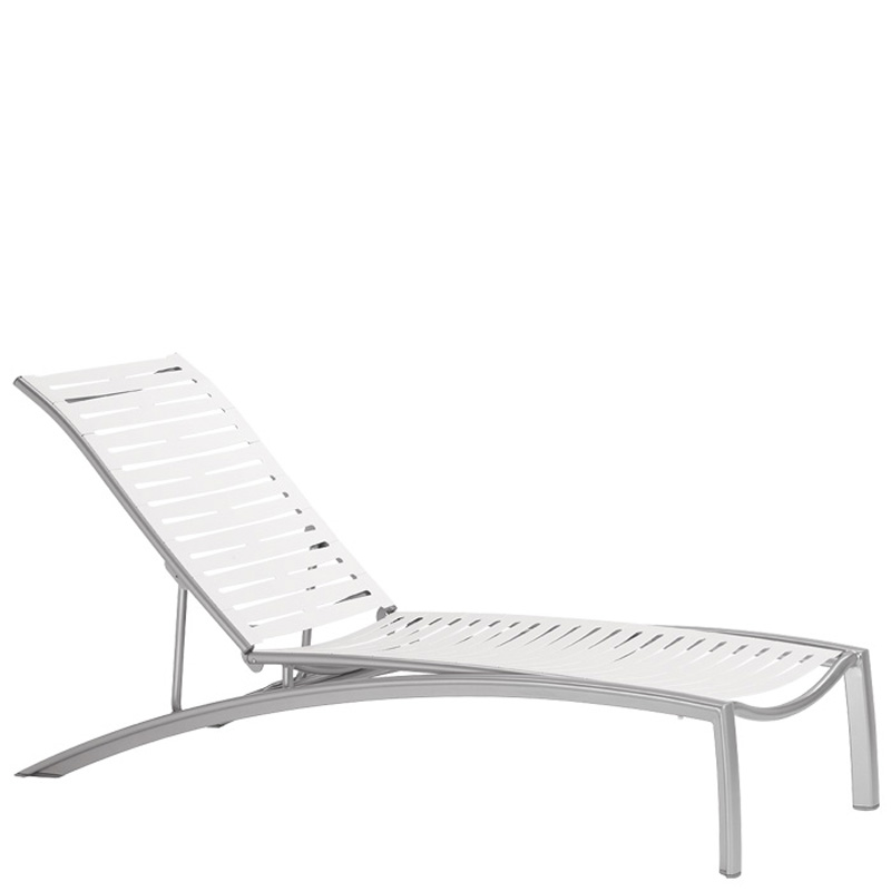 Tropitone 230532rb south beach ez span chaise lounge for Beach chaise lounger