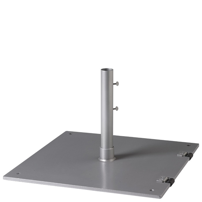 Steel Plate Umbrella Base   Square SP24S