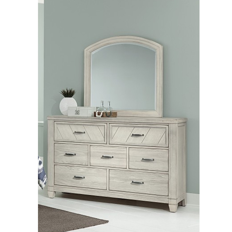 Vaughan Bassett 644 4 1 Rustic Cottage 7 Drawer Dresser