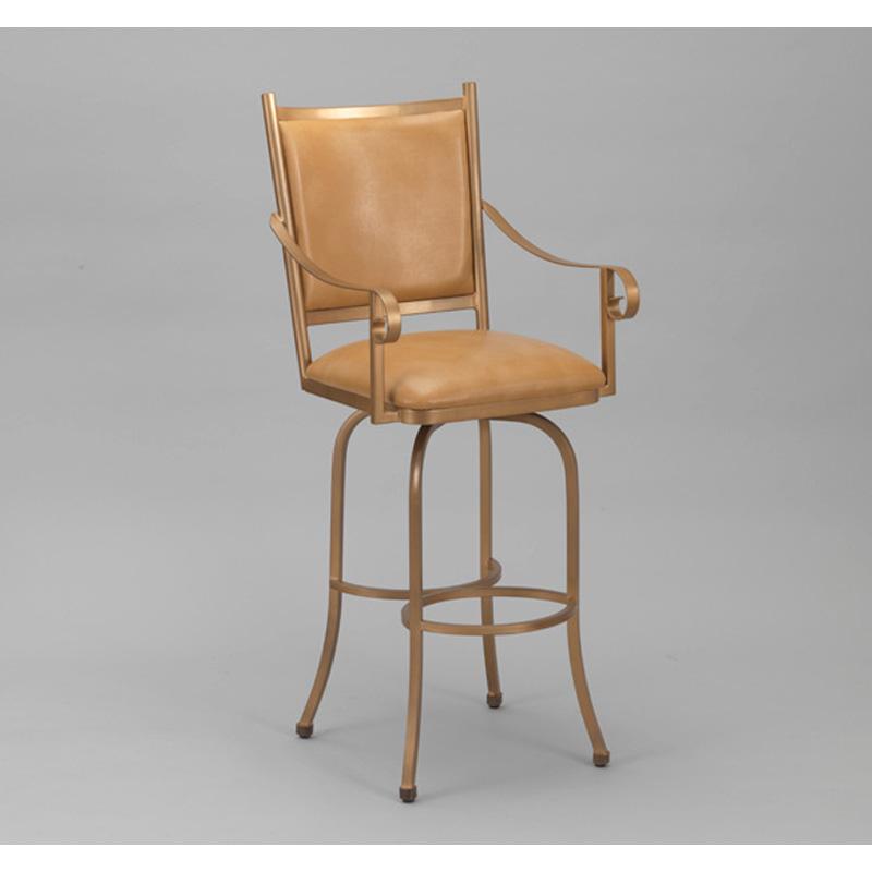 Wesley allen barstool lennon barstool discount furniture for Affordable furniture greenwood in