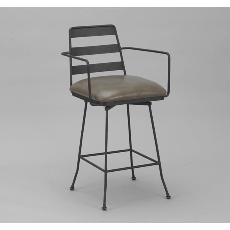 Wesley allen barstool presley barstool discount furniture for Affordable furniture greenwood in