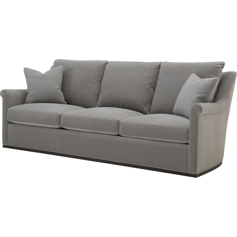 Wesley Hall L2010-89 Houston Leather Sofa Discount