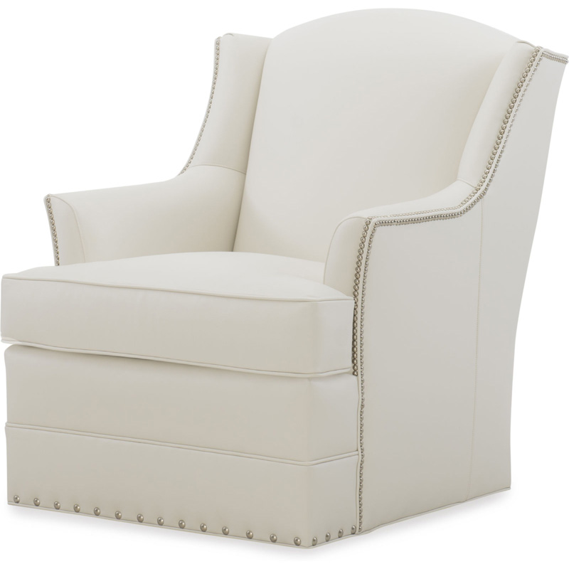 Surprising Wesley Hall L570 Loy Leather Swivel Chair Discount Furniture Uwap Interior Chair Design Uwaporg