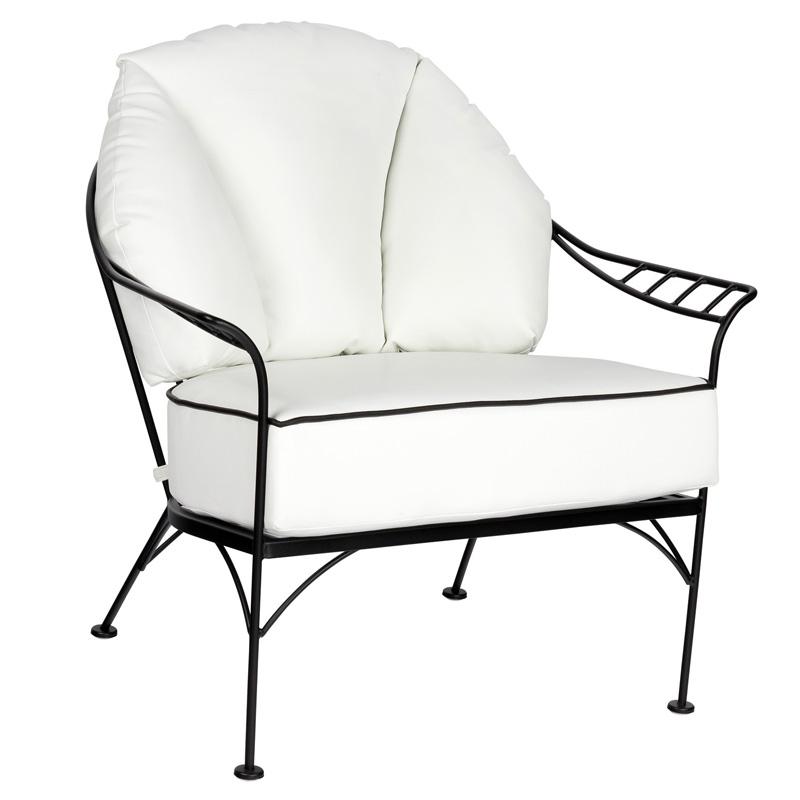 Woodard 6k0006 Hamilton Lounge Chair Discount Furniture At