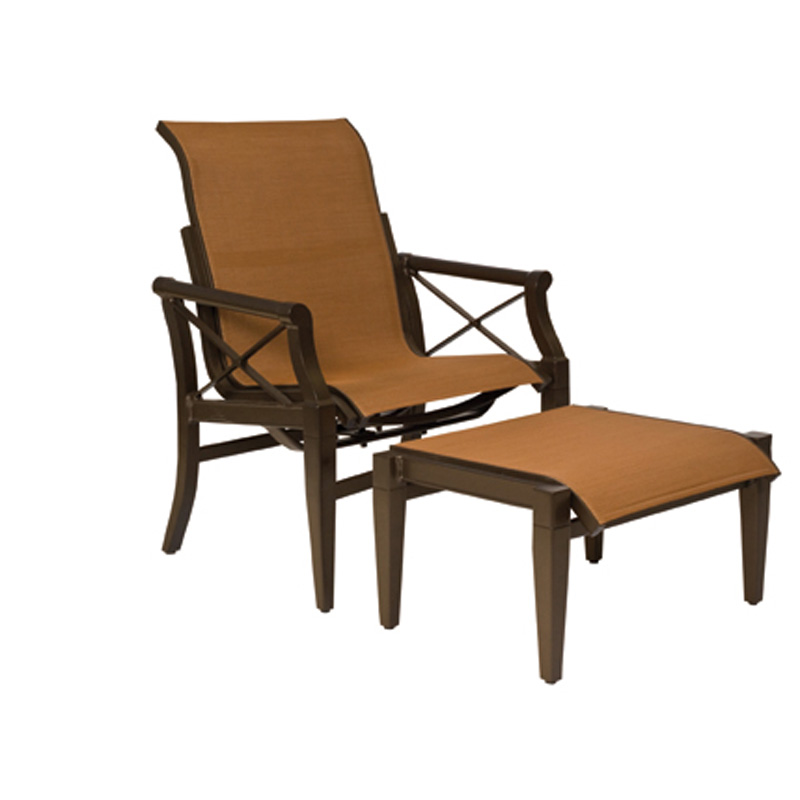 Woodard 3Q0465 Andover Sling Rocking Lounge Chair Discount Furniture at Hicko