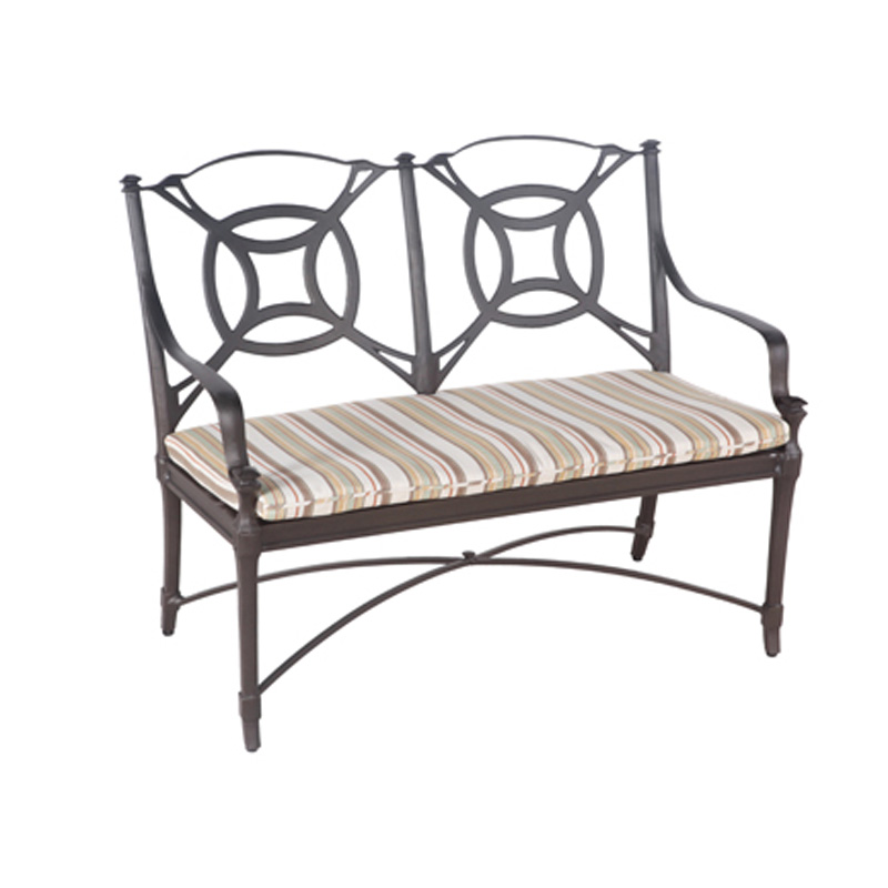 Woodard 4n0414 Isla Bench Discount Furniture At Hickory