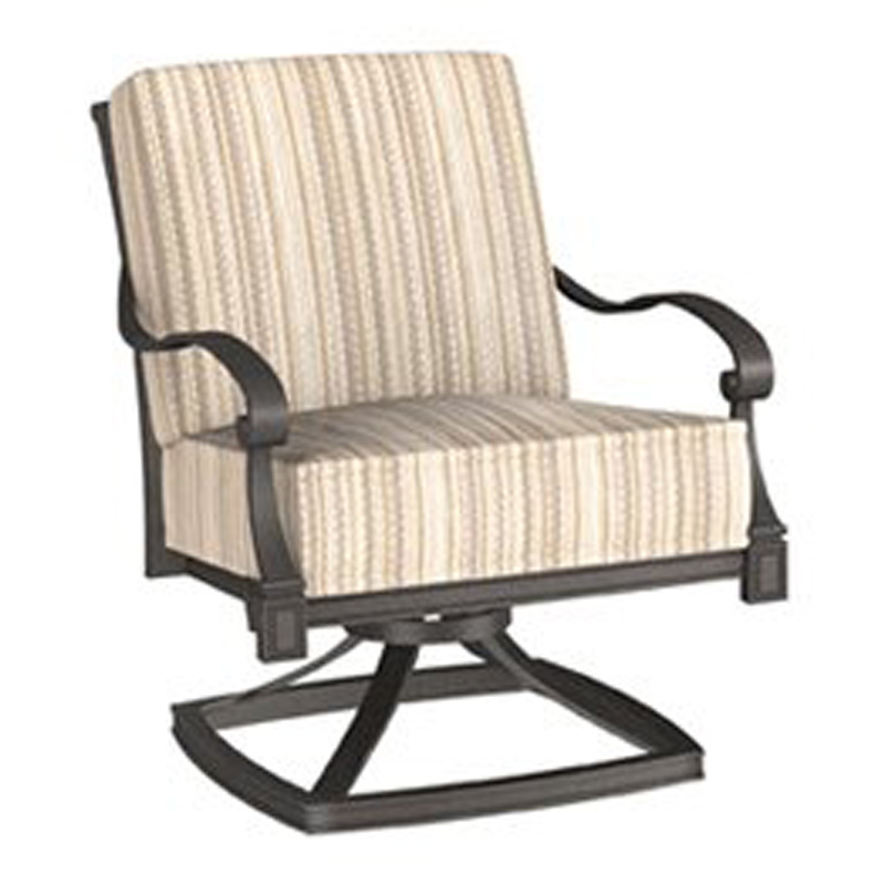 Woodard 4Q0465 Wiltshire Rocking Lounge Chair Discount Furniture at Hickory P