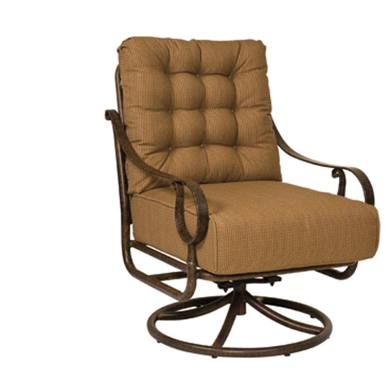 Woodard 8P0477 Ridgecrest Cushion Swivel Rocking Lounge Chair Discount Furnit