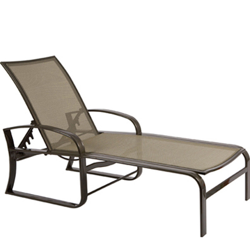 woodard 3n0470 cayman isle flex adjustable chaise lounge discount furniture at hickory park. Black Bedroom Furniture Sets. Home Design Ideas