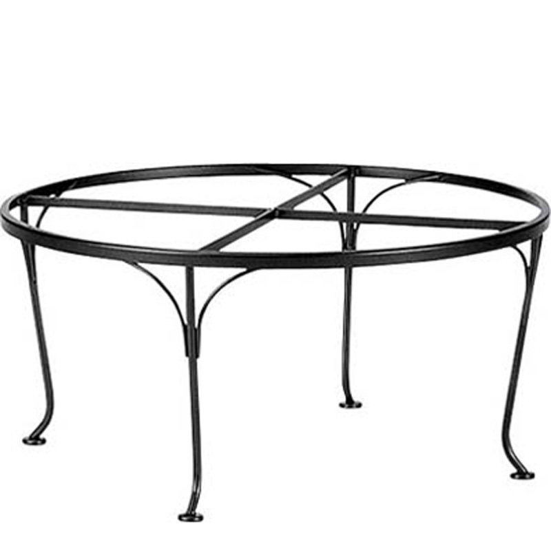 Woodard 190206 dining tables and bases dining tables and bases dining tables and bases wrought Wrought iron coffee table bases