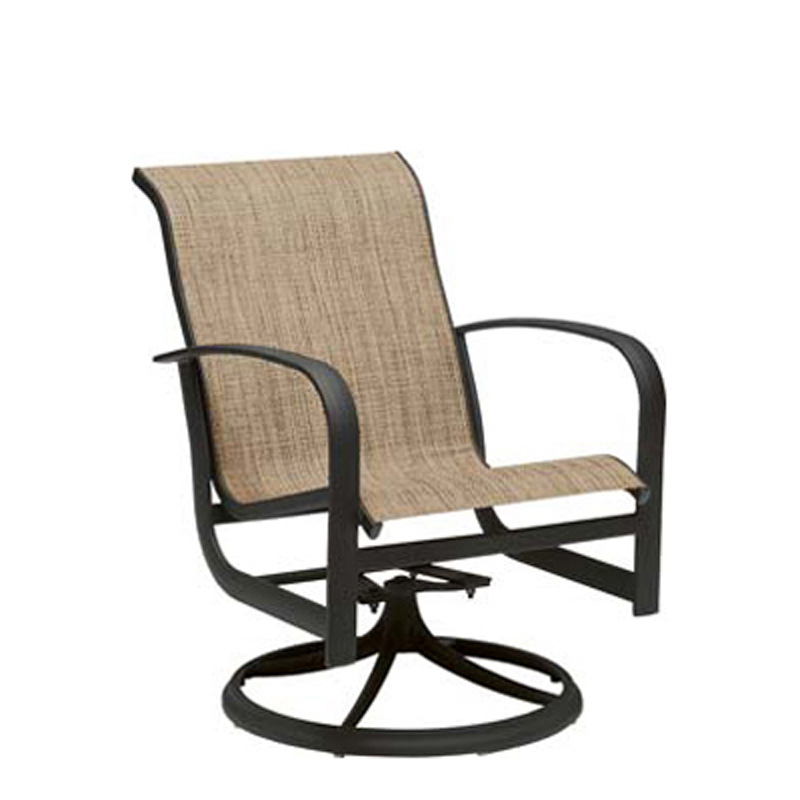 Woodard 2P0472 Fremont Sling Swivel Rocker Discount Furniture at Hickory Park