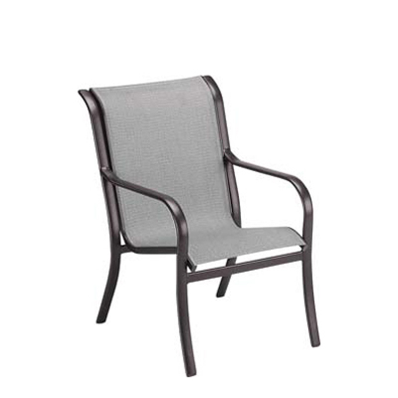 Woodard 2uh401 Pacific Sling Dining Arm Chair Discount Furniture At Hickory Park