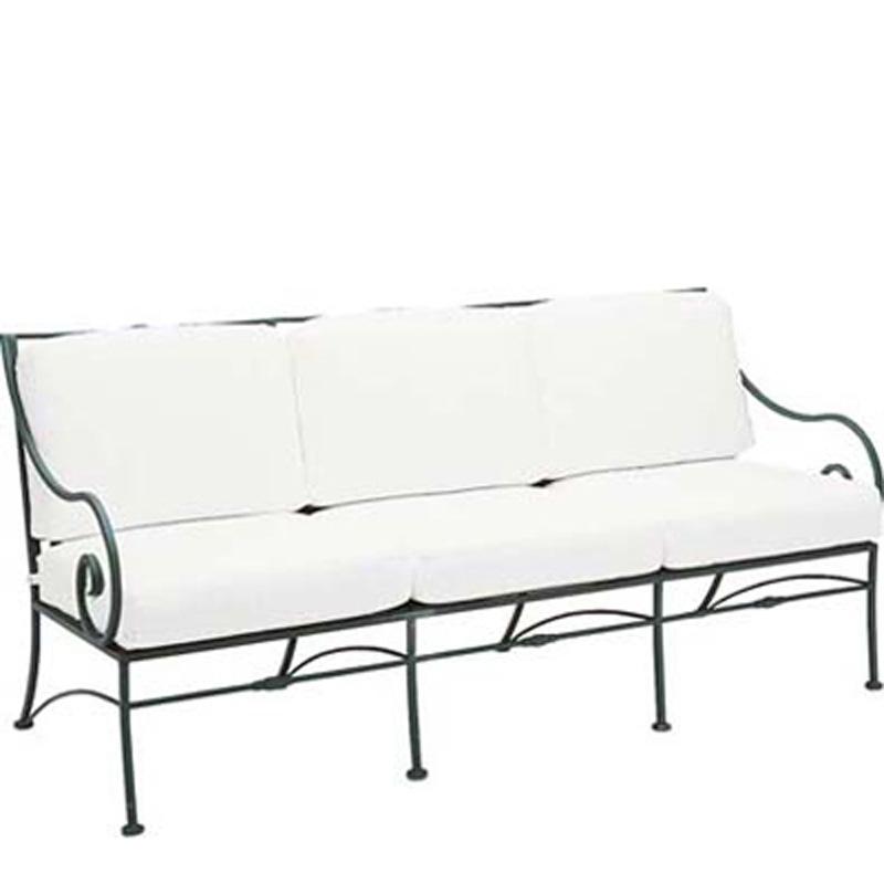 Woodard 3c0020 Sheffield Sofa With Cushions Discount